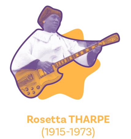 Rosetta Tharpe - Pollen Studio