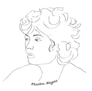 Kristen Noguès @Adeline Villeglé