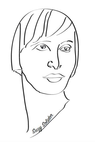 Suzy Solidor @Adeline Villeglé